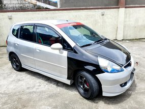Silver 2004 Honda Jazz at 60000 km for sale