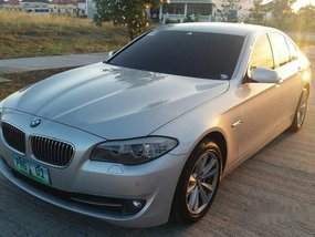 Selling Silver Bmw 520D 2012 Automatic Diesel at 95000 km