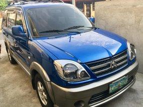 Sell Blue 2010 Mitsubishi Adventure at 90000 km