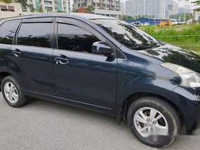 Selling Black Toyota Avanza 2015 Manual Gasoline