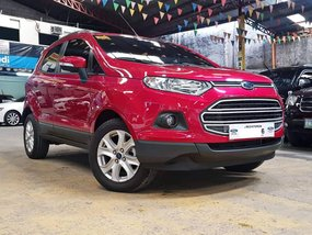 Red 2018 Ford Ecosport at 5000 km for sale