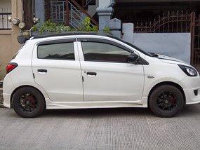 Selling Used Mitsubishi Mirage 2013 Hatchback at 42000 km