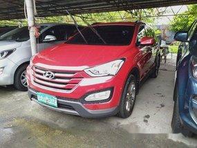 Selling Red Hyundai Santa Fe 2013 Automatic Diesel
