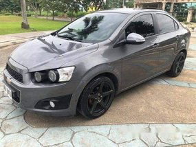 Selling Grey Chevrolet Sonic 2015 in Cebu