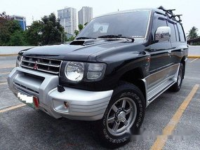 Black Mitsubishi Pajero 2004 Automatic Diesel for sale