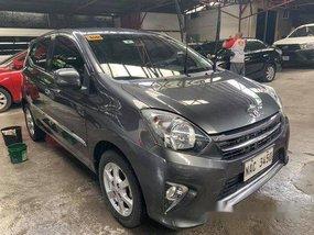 Sell Grey 2017 Toyota Wigo in Quezon City