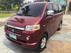 Selling Red Suzuki Apv 2006 Automatic Gasoline