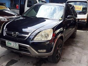 Black Honda Cr-V 2001 at 182393 km for sale