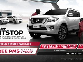 Nissan Philippines offers 3-Year PMS as part of their PitStop promo