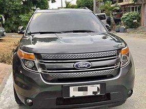 Sell Grey 2015 Ford Explorer Automatic Gasoline at 95000 km