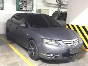 Sell Grey 2005 Mazda 3 Automatic Gasoline at 100000 km
