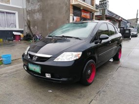Black 2006 Honda City for sale in Dumalinao