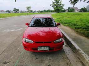 Red 1997 Mitsubishi Lancer at 120000 km for sale
