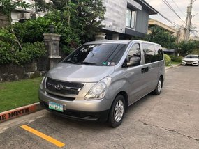 Selling Grey Hyundai Starex 2012 Van Manual Diesel