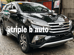 Black Toyota Rush 2018 at 18000 km for sale