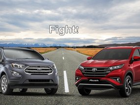 Toyota Rush vs Ford Ecosport: The battle of the compact SUVs!