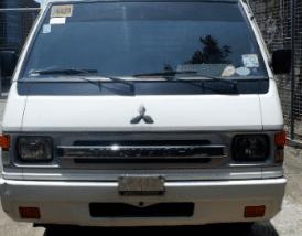 White 2016 Mitsubishi L300 Van Manual Diesel for sale