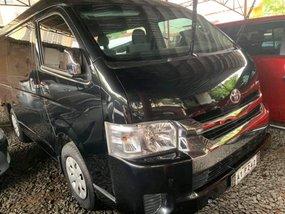 Black Toyota Hiace 2018 for sale in Quezon City