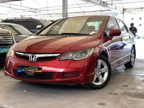 Red 2006 Honda Civic for sale in Quezon City
