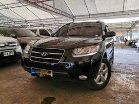 Black 2009 Hyundai Santa Fe Automatic Diesel for sale