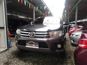 Grey Toyota Hilux 2017 Automatic Diesel for sale
