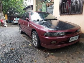 Sell Red 1997 Mitsubishi Galant at 135000 km