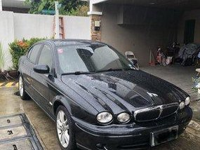 Black Jaguar X-Type 2008 at 12000 km for sale