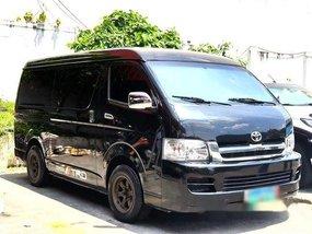 Selling Black Toyota Hiace 2010 at 93000 km