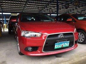 Red Mitsubishi Lancer Ex 2013 at 50000 km for sale