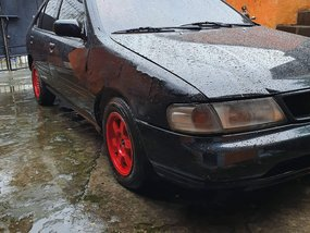 Selling Black Nissan Sentra 1996 Manual in Metro Manila