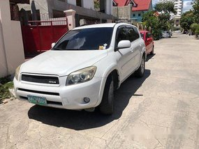 White Toyota Rav4 2007 Automatic Gasoline for sale