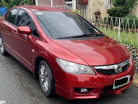 Selling Red Honda Civic 2010 in Quezon City