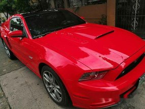Red Ford Mustang 2013 at 30000 km for sale in Bacoor