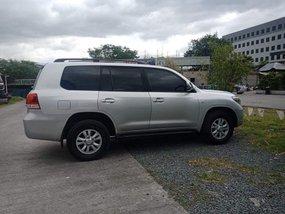 Silver 2009 Toyota Land Cruiser Bulletproof Level B6 for sale in Metro Manila