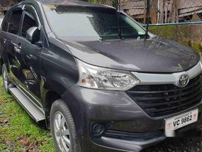 Selling Grey Toyota Avanza 2016 Automatic Gasoline