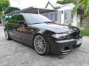 Black Bmw 318I 2004 at 100000 km for sale