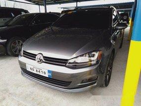 Grey Volkswagen Golf 2018 Automatic Diesel for sale