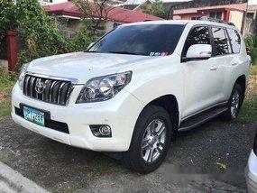 Selling White Toyota Land Cruiser Prado 2012 Automatic Gasoline at 58000 km