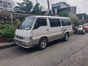 White Nissan Urvan 2014 at 82000 km for sale