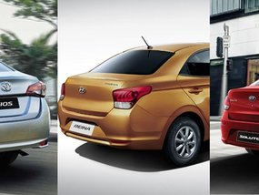 Kia, Hyundai, and Toyota: Which is the best subcompact sedan in the Philippines?