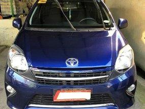 Sell Blue 2015 Toyota Wigo Hatchback at 23000 km