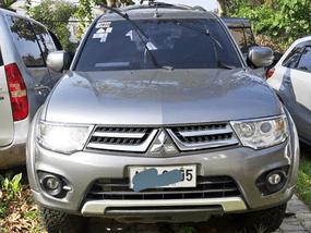Sell Silver 2014 Mitsubishi Montero Sport in Davao City