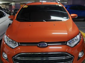 Orange 2016 Ford Ecosport at 11500 km for sale
