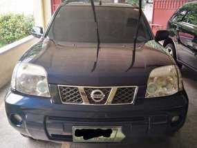 Sell Blue 2007 Nissan X-Trail Automatic Gasoline at 80000 km