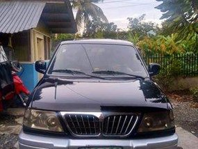 Black Mitsubishi Adventure 2002 at 80000 km for sale