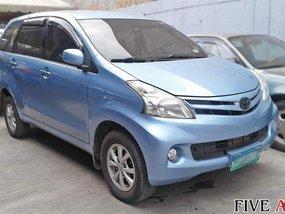 Blue 2013 Toyota Avanza for sale