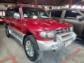 Red Mitsubishi Pajero 2005 for sale in Quezon City