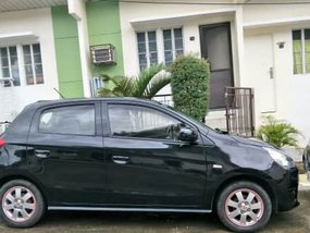 Sell Black 2015 Mitsubishi Mirage Hatchback in Subic