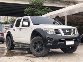 White 2014 Nissan Navara Manual Diesel for sale
