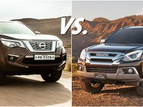Nissan Terra vs Isuzu Mu-X: Battle of the macho SUVs!